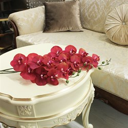 Best collection-орхидея 33 REAL TOUCH PHALAENOPSIS SPRAY×7FLWS, 84 см.